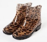 As mulheres de moda nova chuva de PVC de peneiras, Senhoras de sapatos de chuva, as mulheres de estilo popular Equipamento