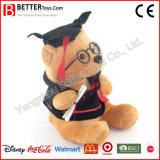Weicher Spielzeug-angefülltes Tier-Plüsch-Doktor Teddybär für Absolvent