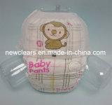 360&deg ; Le bébé élastique de ceinture tirent vers le haut la couche-culotte