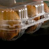 Disponible quitar el envase de alimento plástico con la tapa