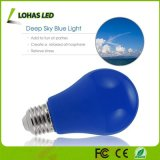 Bombilla decorativa del partido LED del bulbo azul de A19 3W E26 Non-Dimmable