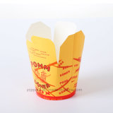 Custom Disposable Paper Spaghetti Pasta Box Food Packaging