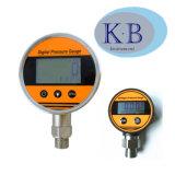 Haute qualité en acier inoxydable Manomètre de contrôle hydraulique numérique avec fixation inférieure