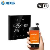Pantalla táctil WiFi HVAC termostato ambiente calefacción electrónica