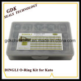 Fábrica de fornecedores chineses Dingli de alta qualidade Caixa de anel O para Kato