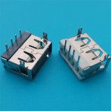 Гнездо USB 2.0 высокого качества SMT женское миниое Port