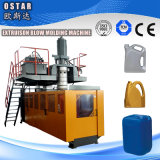 tipo de palanca de los tambores de petróleo del HDPE 60L que sopla la máquina de Shping