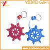 Trousseau de clés d'EVA de forme ronde à vendre (YB-EV-03)