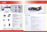 un surtidor del oro del anuncio publicitario, transporte, turista, control de acceso hecho por la impresora de la tarjeta T12