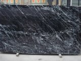 Bancada/Vaidade Top/Tabela/Bancada/rodapé/Border/Mosaico/Pilar/Colunas/Tile/laje/Nero Marquina escadas em mármore preto Revestimento de parede