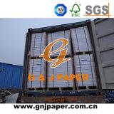 Kohlenstofffreies Kopierpapier verwendet auf Bankscheck-Drucken