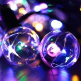 48PCS E12 전구를 가진 G40 구리 철사 LED 안뜰 끈 빛 크리스마스 불빛