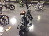 """セリウム20の""""リチウム電池が付いているFoldable電気バイク"""