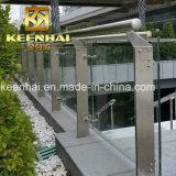 Alberino di vetro fisso dell'inferriata dell'acciaio inossidabile 304
