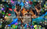 Máquina de juego de arcada de la pesca del casino de la máquina de juego del cazador de los pescados de la huelga del leopardo del océano