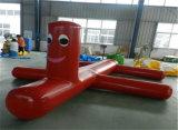 De fabriek verkoopt het Commerciële Opblaasbare Drijvende Speelgoed van het Park van het Water