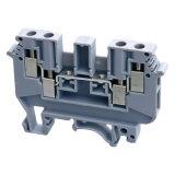 Блок UK6n Teminal разъема рельса DIN терминальный (UK серии) UK