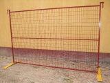 Гальванизированная загородка Канады портативной подвижной конструкции высокого качества горячей временно