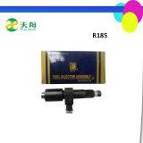 Inyector de combustible de la alta calidad R185 de Quanjiao ajustado para el motor diesel 9HP