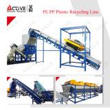 Reciclaje y lavadora del desecho del PE de los PP