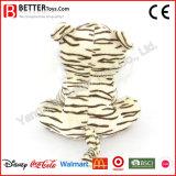 Tigre suave animal relleno regalo del blanco del juguete de la felpa de la promoción