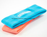 Fabrik Soem-kundenspezifisches Firmenzeichen gestickte BaumwolleSproting Rot-Schweiss-Stirnbänder