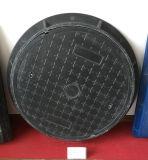 Couverture de trou d'homme malléable de grand dos de fer d'En124 D400