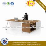 Стол офиса меламина цвета дуба ноги белого цвета стальной (HX-8N3047)