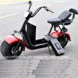 Ес одобрил 2018 новой модели 60V 12AH 1000W электрический мотоцикл, скутере Citycoco с электроприводом