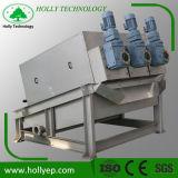 Machine de asséchage de cambouis de rebut autonettoyant de traitement des eaux