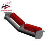 Retorno de transportador de correa 2 rollos Troughing V tipo rodillo tensor