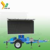 Remorque mobile d'écran de DEL pour annoncer le camion mobile du panneau-réclame P8 P10 DEL à vendre