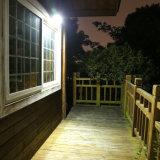 De muur zet Lamp 36 Lampen van de Tuin van de Lichten van de LEIDENE op de ZonneSensor van de Motie IP65 Waterdicht met Regelbare Hoek