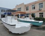 Liya Panga 배 7.6m 어선 섬유유리 어선