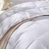 100% algodão egípcio de plumas de ganso branco da tampa