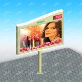 Напольное мега рекламируя знамя Lightbox Scrolling афиши
