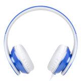 Складные Mega Bass Over-Ear проводной разъем для наушников с микрофоном для Samsung