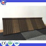 Mattonelle di legno rivestite della pietra impermeabile dei materiali da costruzione