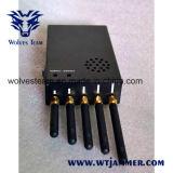 3W Portable 3G móvil VHF UHF Jammer