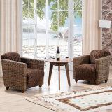居間またはホテルのレストラン8033-13のための藤ファブリックソファーの家具
