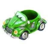 Potenciômetro Succulent da planta da resina creativa nova do modelo do carro