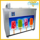 4개의 형 상업적인 아이스 캔디 냉장고를 놓을 수 있다