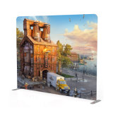 Impression par sublimation thermique pop up d'impression en couleur de la tension d'affichage de tissu