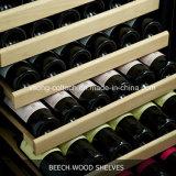 """24 """" refrigeradores do frasco de vinho do refrigerador interno duplo do compressor da zona mini"""