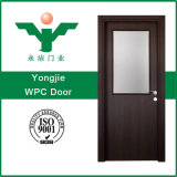 Puerta de WPC para el mercado de ultramar con estilo moderno