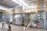 Высокая температура стяжные ленты непрерывного окрашивания и утвержденном CE машины для окончательной обработки