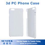 caisse en plastique de téléphone de la sublimation 3D pour l'iPhone X, iPhone 8