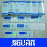防水自己接着反偽造品のカスタム薬剤10mlガラスびんボックス