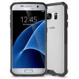 Прозрачная подошва из термопластичного полиуретана ПК обратно крышку оболочки Пустой кейс для сотового телефона Samsung Galaxy S7 S7 S6 случае
