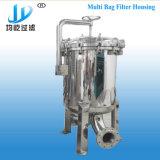 Huisvesting van de Filter van de Reiniging van het Water van de Zakken van het Staal van Staninless de Multi
